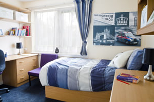 A typical room in University of buckingham accommodation